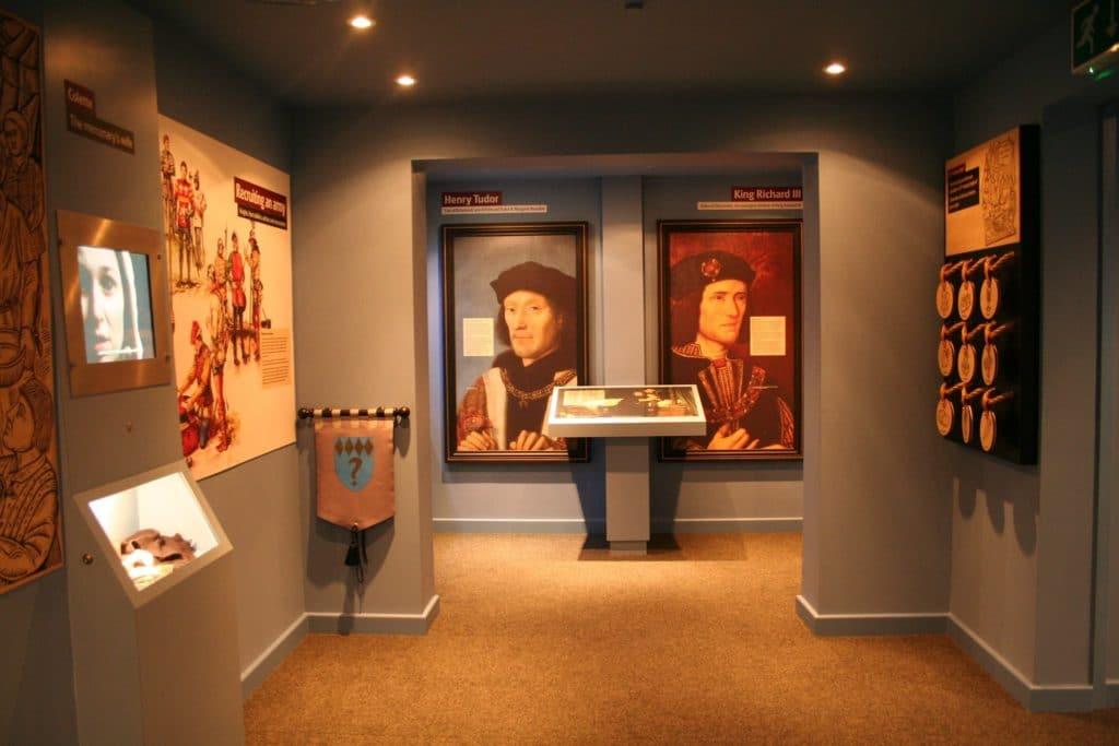 Visit the Bosworth Battlefield Heritage Centre Richard III Exhibition