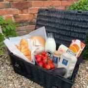 Continental Vegetarian Breakfast Hamper at Hall Farm Dadlington