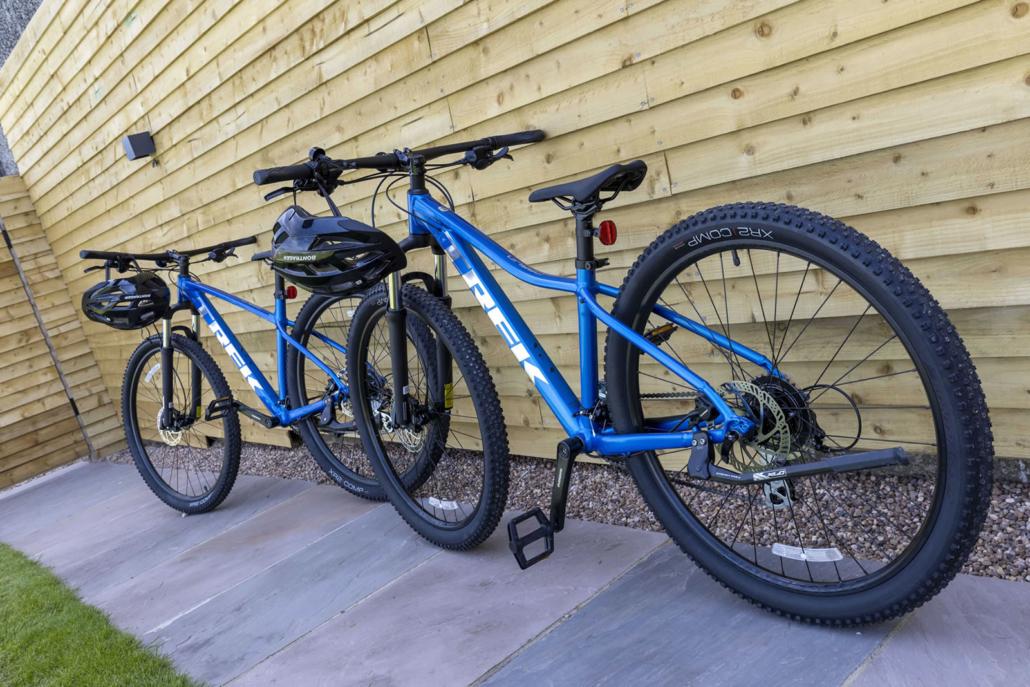 Trek Mountain Bike Hire at Hall Farm Dadlington